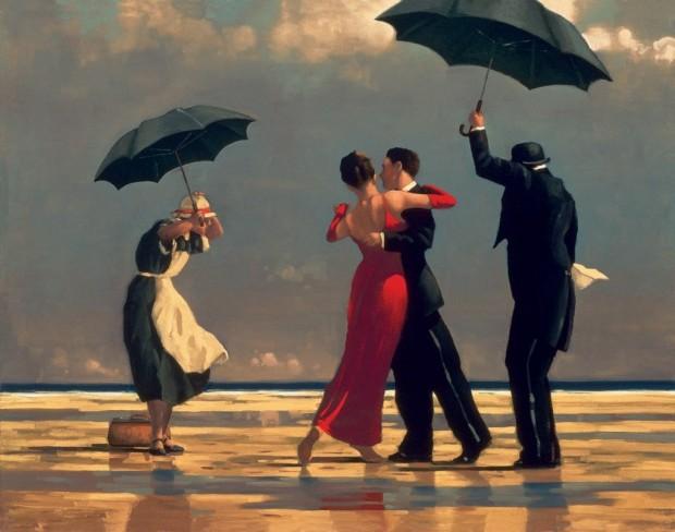 Jack Vettriano: 'The Singing Butler'