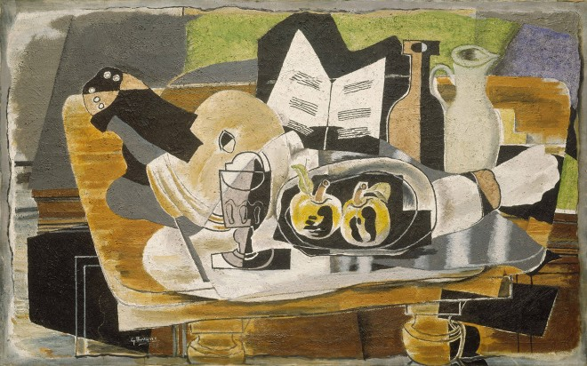 George Braque: 'Still Life: The Table', oil on canvas (1928)
