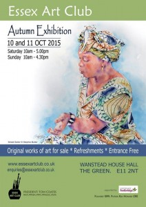 We invite you to Essex Art Club Autumn Exhibition 2015