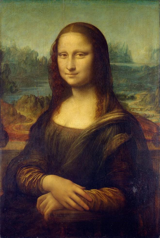 Leonardo da Vinci: 'Mona Lisa', oil on canvas, c.1503-6