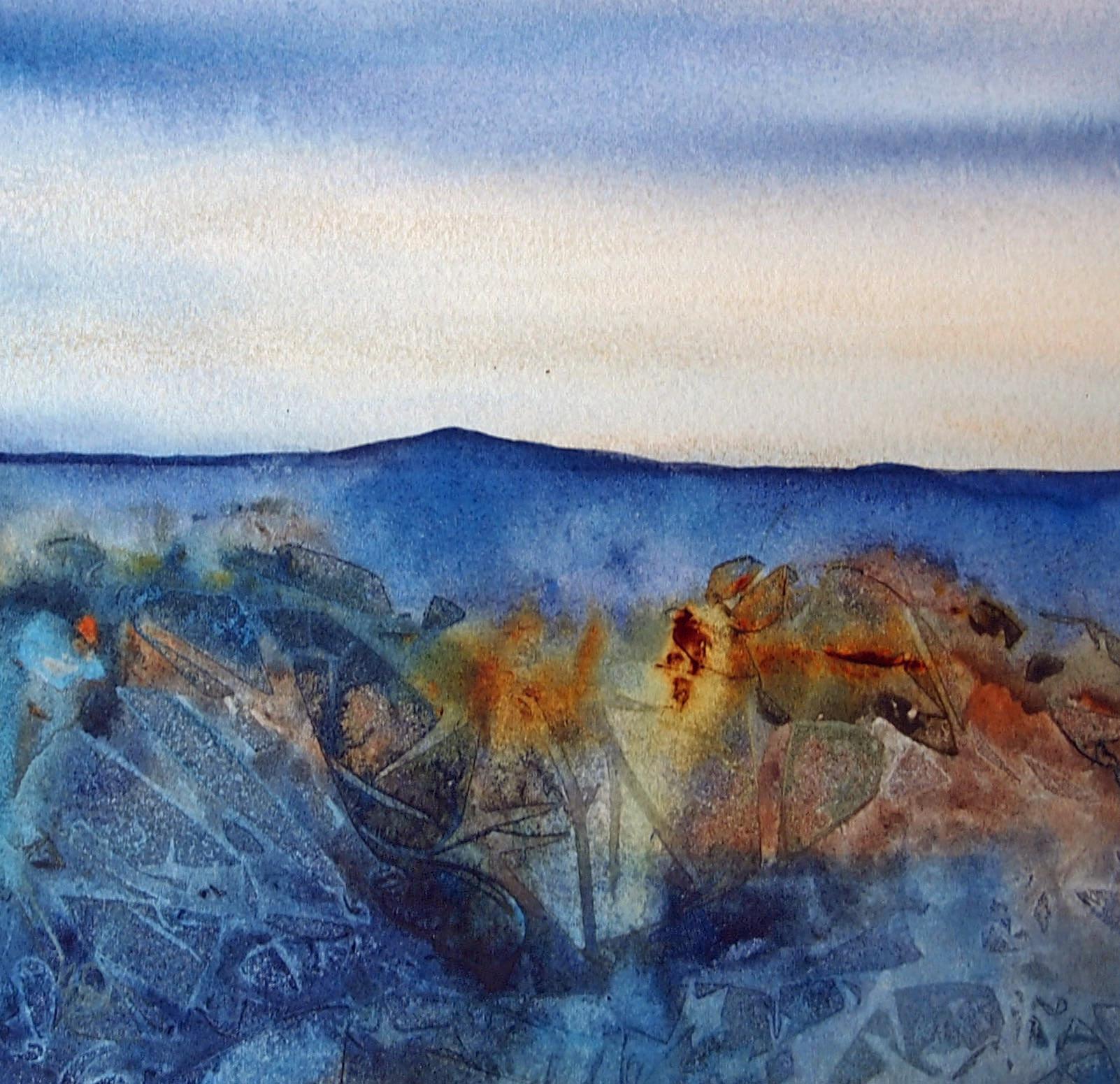 Cling Film Watercolour Technique Jackson S Art Blog
