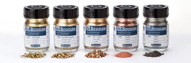 Schmincke Oil Bronze Powder