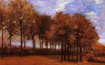Vincent Van Gogh: 'Autumn Landscape'