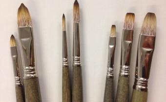 Escoda Modernista imiation mongoose artist synthetic brushes