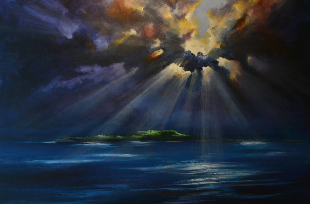 Acrylic Sky Painting Techniques