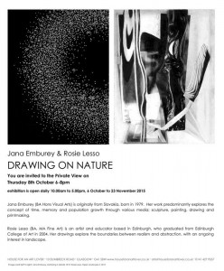 Drawing on Nature