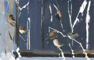 Esther Tyson's Winter Sparrows