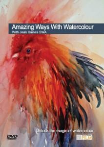 Townhouse DVD : Amazing Ways : Watercolour : Jean Haines SWA