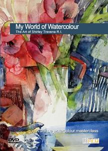 Townhouse DVD : My World of Watercolour, The Art of Shirley Trevena R I  : Shirley Trevena