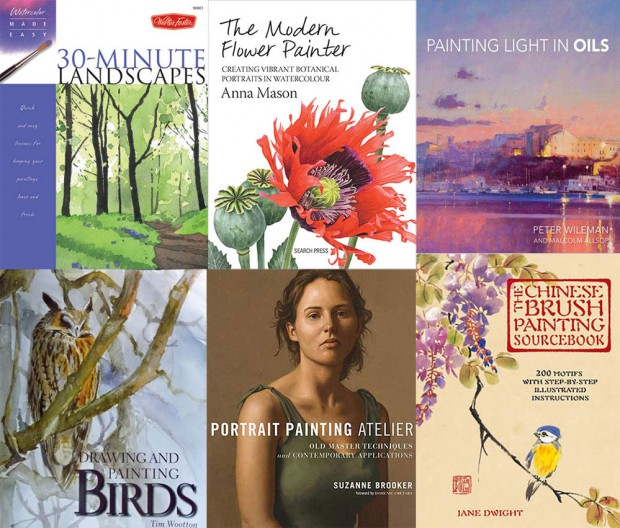 Top 25 Art Instruction Books of 2015