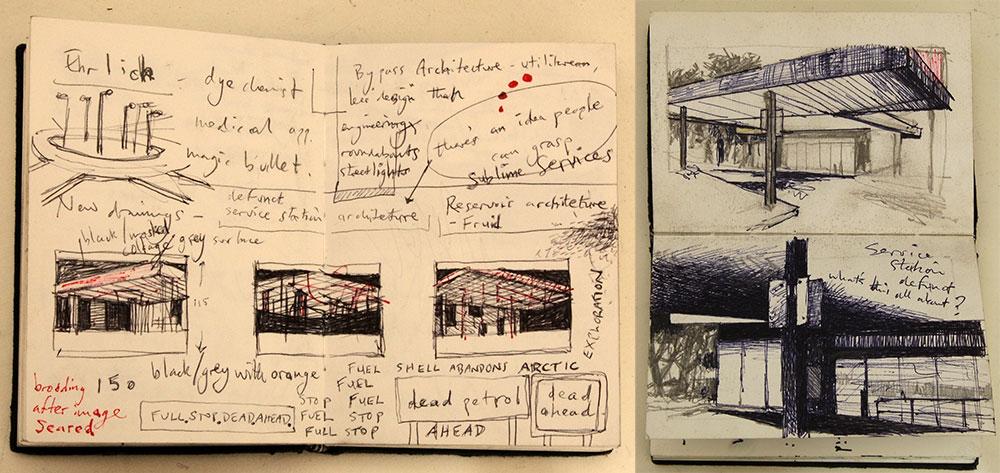 Andrew MacKenzie's sketchbooks