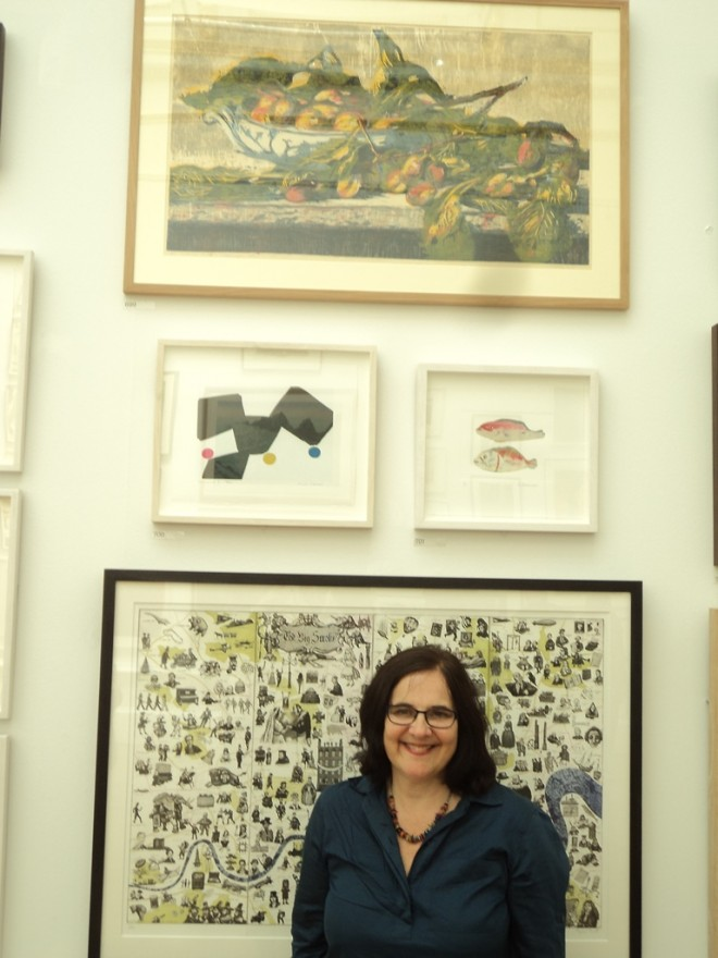 Royal Academy 2015: Hilary Daltry with 'September Fruits' (above)