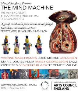 The Mind Machine Digital Flyer