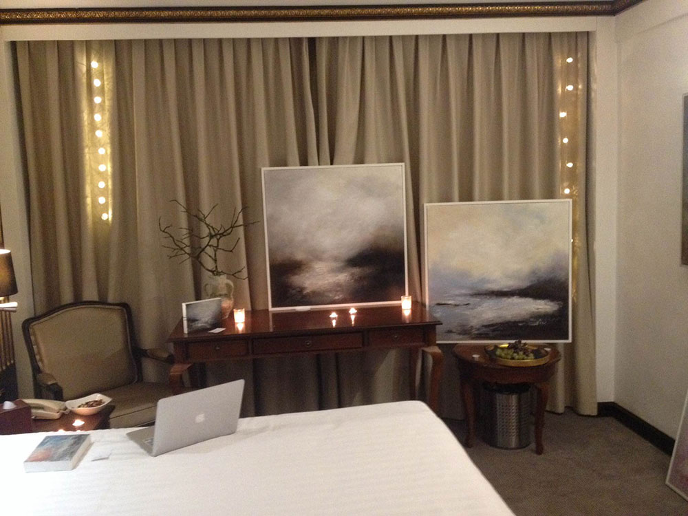 Liesha Yaz exhibiting at Artrooms 2016