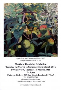 Matthew Theobald exhibition