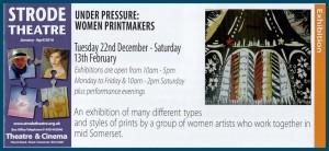 Under Pressure Women Printmakers