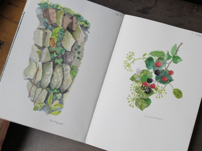 Christine Howes' immaculate Sketchbook
