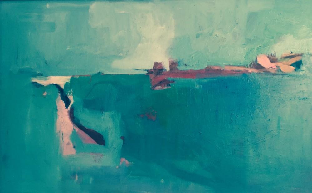 Horizon oil on canvas, 120x75cm 2016 Paul Bell