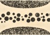 """Porous #41 by Eunice Kim, Collagraph with chine collé, 11.5""""x28"""" (image), 20""""x36"""" (paper), 2007, edition variable of 20"""