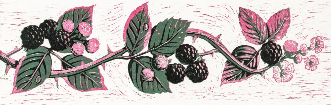 Christine Howes: 'Blackberry Border',