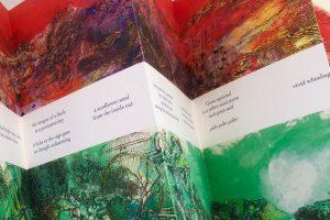 Between Red & Green- detail Ellen Wiener
