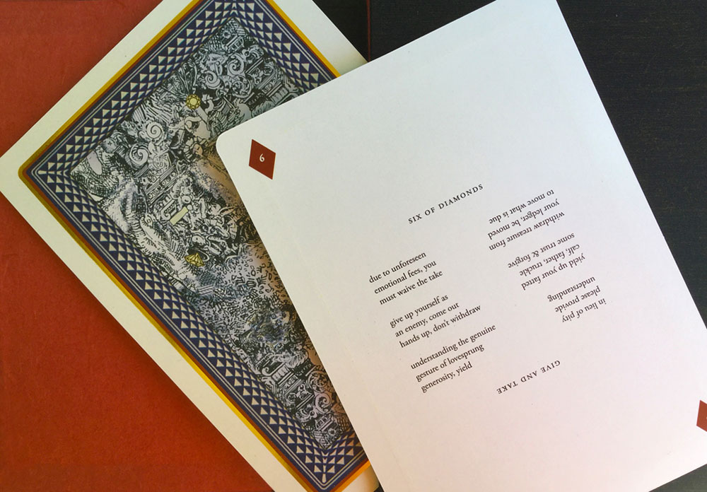 Deck of Cards/2014, Poems in the Suit of Diamonds Ellen Wiener
