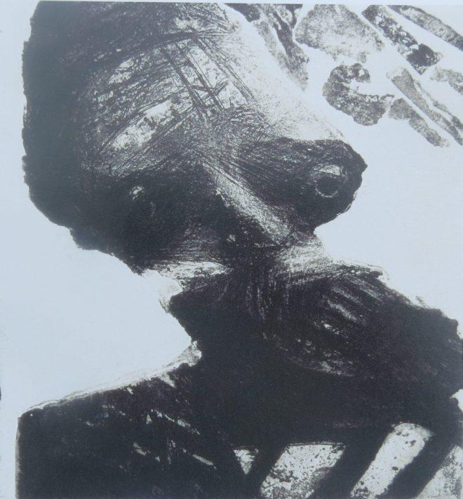 Bill Jacklin: 'Portrait of my Father', etching, 1963