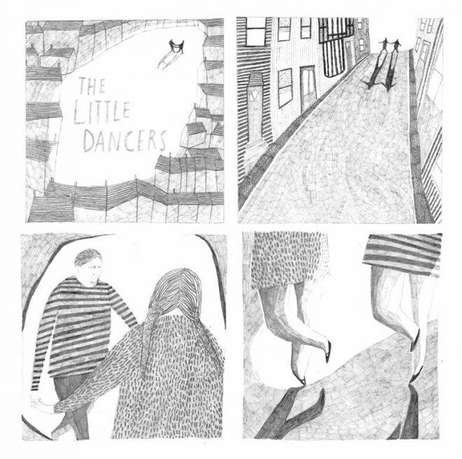 Jessamy Hawke: Self-initiated project illustrating Laurence Binyon's poem 'The Little Dancers'
