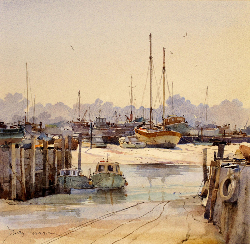 Wcol - Hairy Bob's Boat at St. Osyth-David Howell