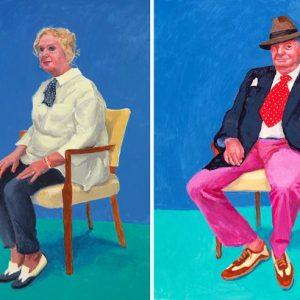 Celia Birtwell, 31 Aug-4 Sep 2015 by David Hockney