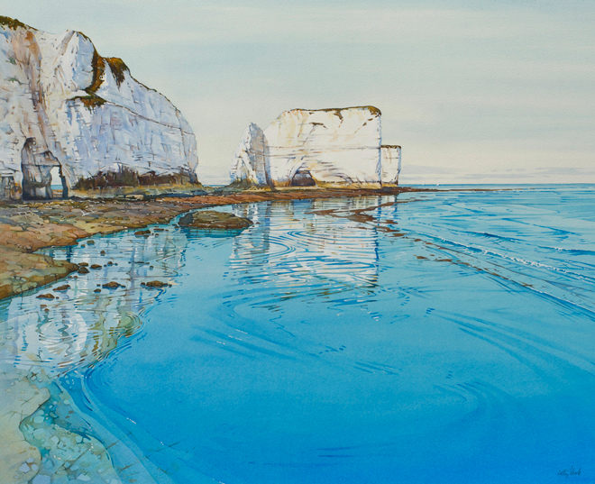 Beyond the Blue – Artist Cathy Veale's Stunning Watercolour Seascapes