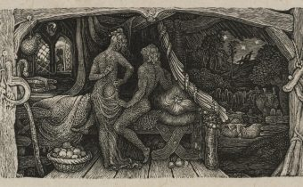 Edward Calvert, 'The Chamber Idyll' (1831, Collection of the Tate).