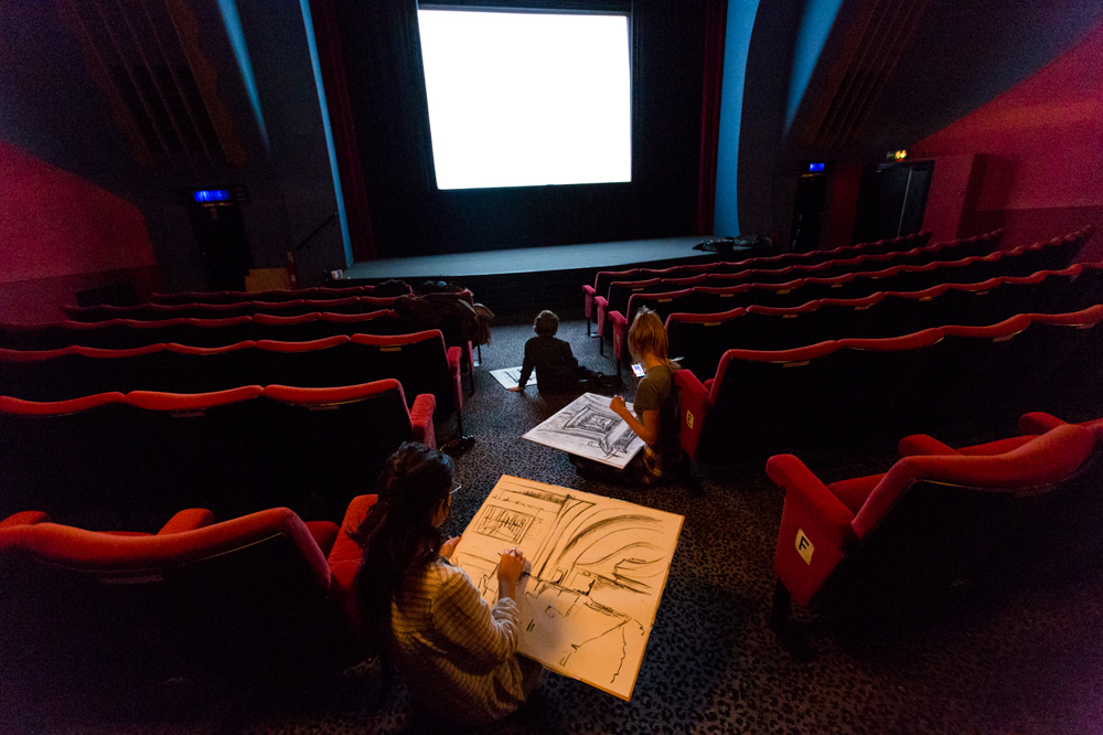 Root Drawing class inside the Rio Cinema