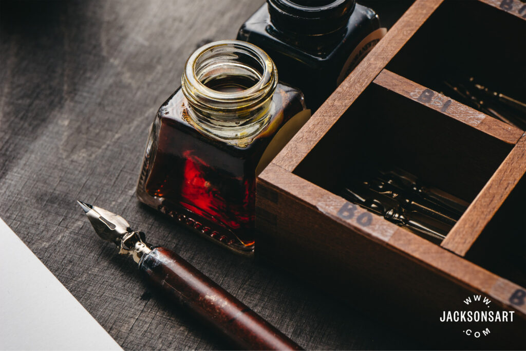Calligraphy Set with Wooden Dip Pen Wood Dip Pen with 11 Nibs /& 4 Fountain Pen Ink Bottle Set Quill Pen Metal Calligraphy Pen Stand