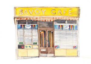 Eleanor Crow: Savoy Cafe, Graham Road, Hackney