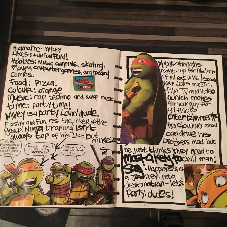 Teenage Mutant Ninja Turtles Guide by Sophia Swift