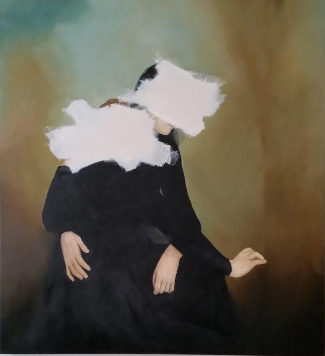 Daydreamers Wanda Bernadino Oil on Canvas, 259.1cm x 284.5cm, 2015