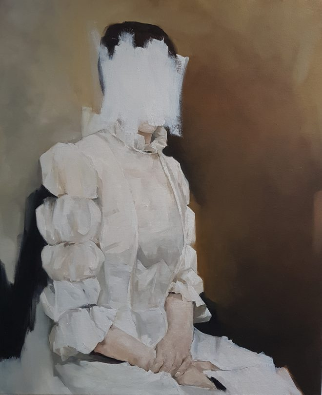 There's No Reason Not to Wanda Bernardino Oil on canvas, 66cm x 81cm, 2016