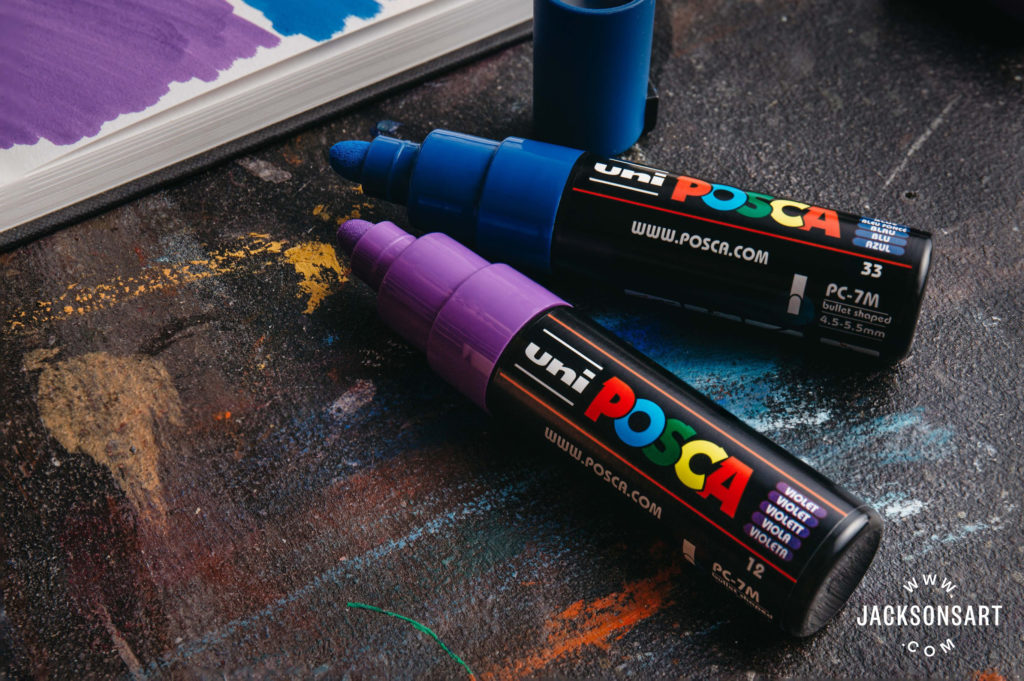 Posca Pens Are Perfect For Painting Jackson S Art Blog