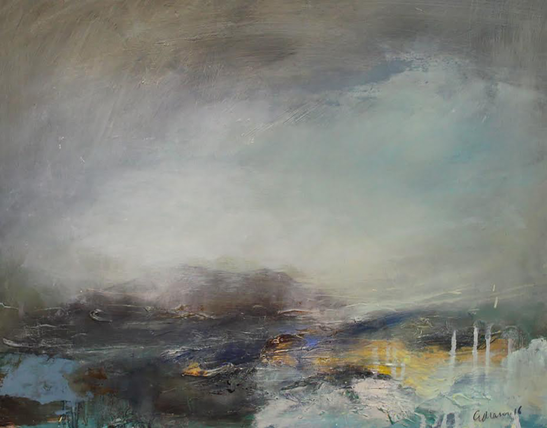 Georgie mason contemporary landscape painting for Contemporary oil paintings