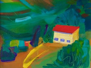Raina Goran, 'Tuscan Farmhouse'oil on canvas, 2016