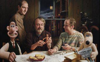 Supper at Aardman Vincent Brown Acrylic on poplar, 80 x 110 cm, 2008
