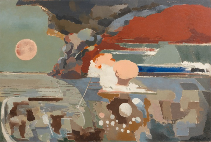 Paul Nash, 'Battle of Germany' (1944, Oil on Canvas)