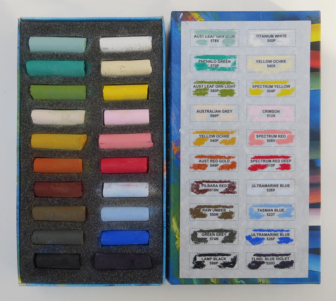 1teresa Allen Art Spectrum Pastels Colour Chart Jacksons Art Blog