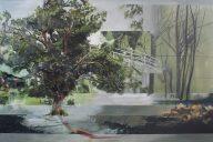 River View Nerine Tassie Mixed media, 66cm x 90cm, 2016