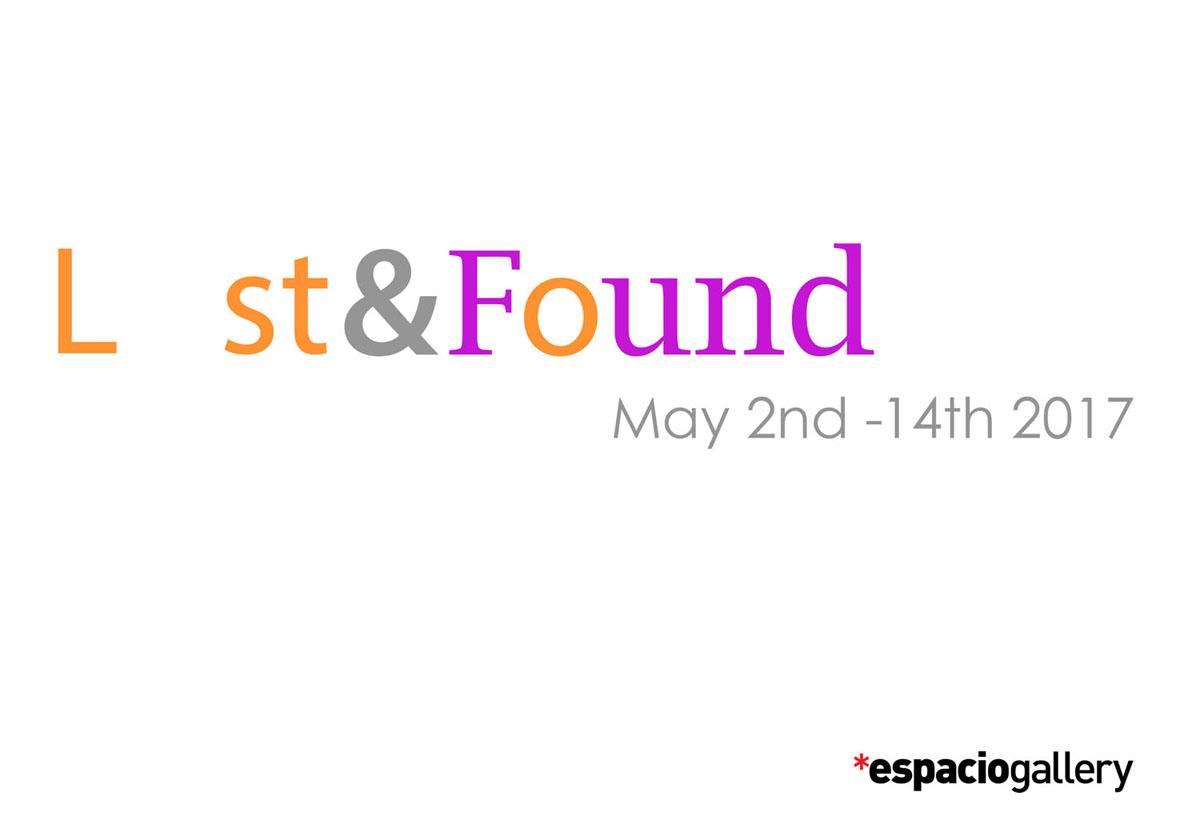 Lost and Found exhibition espacio gallery london