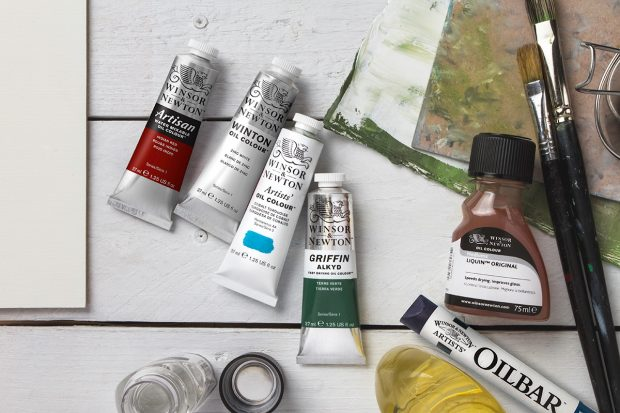 Winsor & Newton oil colour ranges