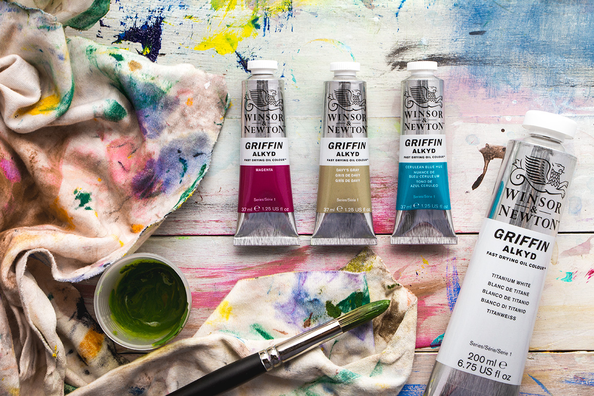Winsor & Newton Griffin Alkyd