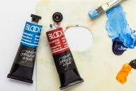 Blockx : Oil Paint 87 colours available in 35 ml and 3 whites available in 200 ml