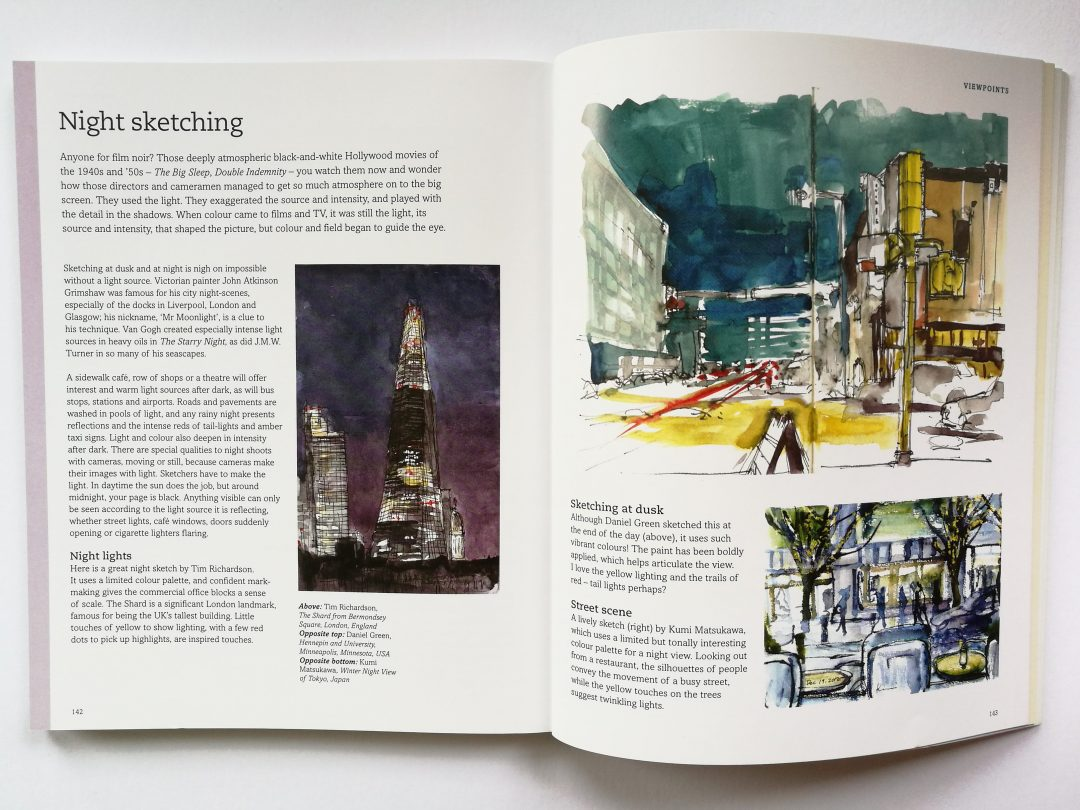 A section on Night Sketching in Archisketcher